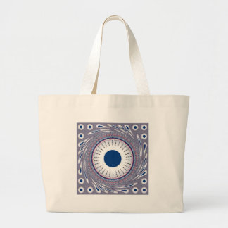 Chic  blue jumbo tote bag