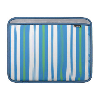 Chic Blue Deckchair Stripe MacBook Air Sleeve