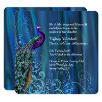 Purple And Blue Wedding Invitations & Announcements   Zazzle