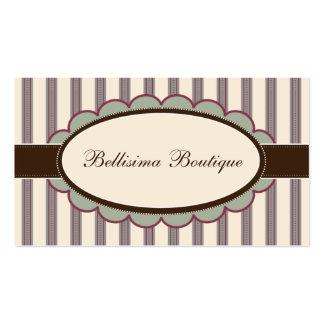 Chic Boutique Designer Business Cards: lavender Business Card