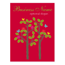 Chic Boutique Red Post Card