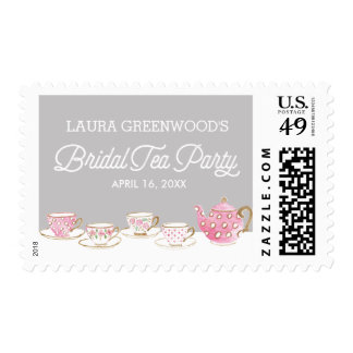 Chic Bridal Tea Party | Bridal Shower Postage