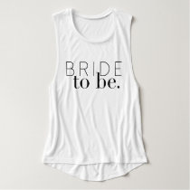 Chic Bride To Be | Wedding Party | Bride Tank Top