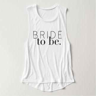 Chic Bride To Be   Wedding Party   Bride Tank Top
