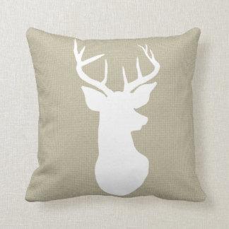 Vintage Antler Pillows - Decorative & Throw Pillows Zazzle