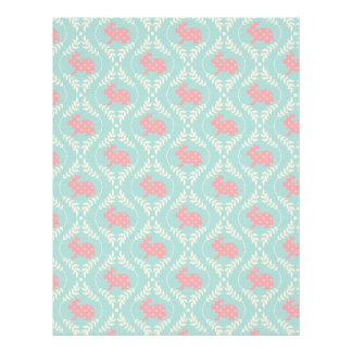 Chic Bunny Dual-sided Scrapbook Paper A