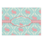 Chic Bunny Gift Tag Business Card Templates