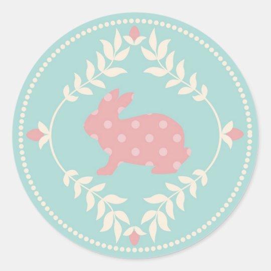 Chic Bunny Sticker B R