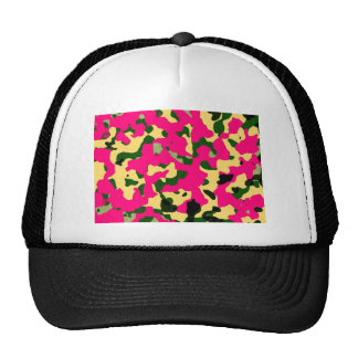 Chic camouflage hat