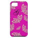 CHIC_CASE MATE IPHONE 5_VIBE_MOD BUTTERFLIES 186 iPhone 5 COVER