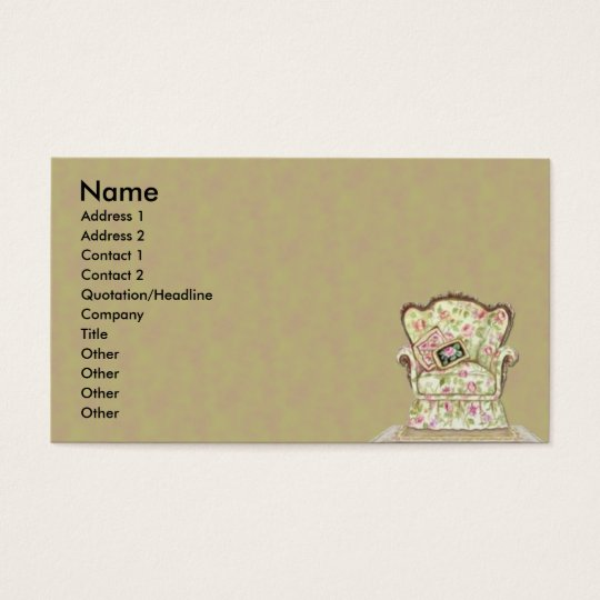 Chic Chair Business Card
