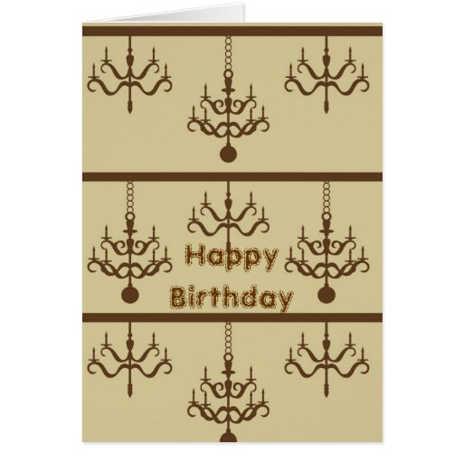 Chic Chandeliers Cards