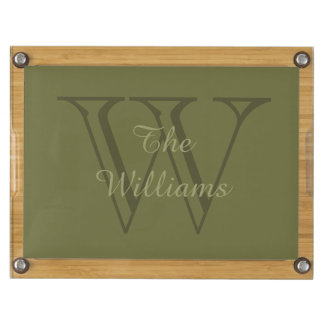 CHIC CHEESE TRAY_FAMILY NAME ON INITIAL CHEESE BOARD