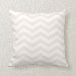 Chic Chevron | blush Throw Pillow