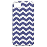 Chic Chevron iPhone 5 Case Navy and White