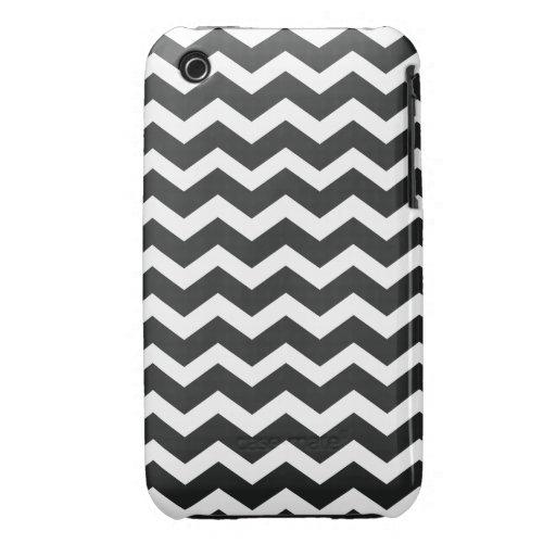 Chic Chevron iPhone Case Black & White