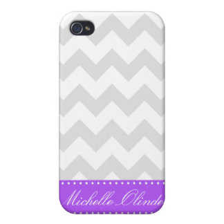 Chic Chevron Stripes Cover For iPhone 4