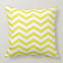 Chic Chevron | yellow Pillows
