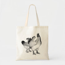 Chic Chickens Tote