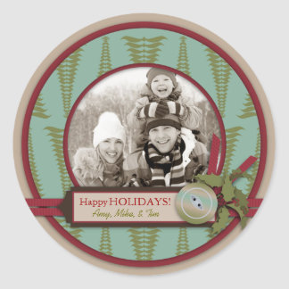 Chic Christmas Photo Sticker 2