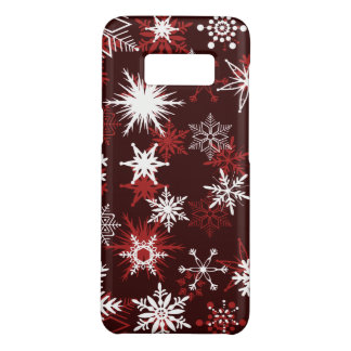 Chic Christmas snowflakes Case-Mate Samsung Galaxy S8 Case