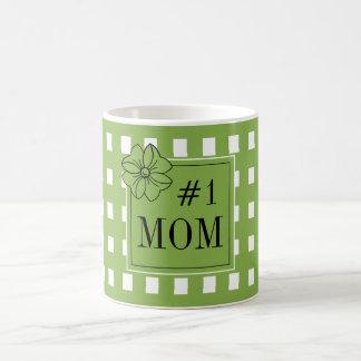 CHIC COFFEE MUG_PRETTY FOR #1  MOM_GREENERY COFFEE MUG