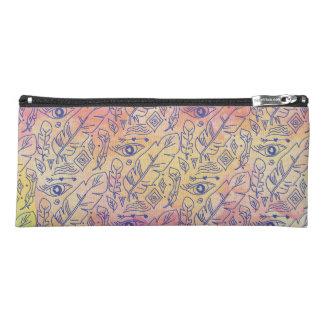 Chic colorful Bohemian Pattern Pencil Case