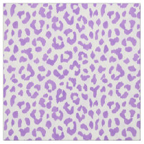 Chic colorful purple cheetah print pattern fabric
