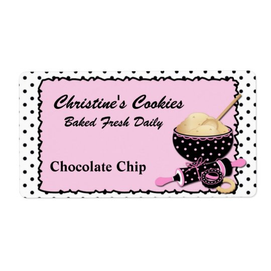 Chic Cookie Label