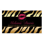 Chic Cosmetology Business Card