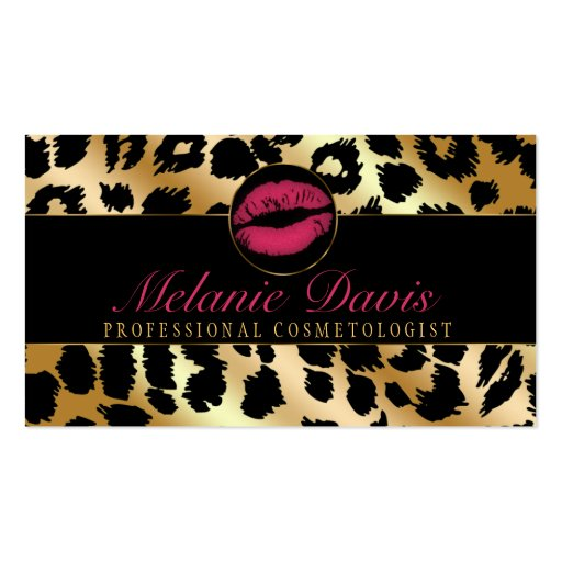 Gallery For Cosmetologist Business Cards
