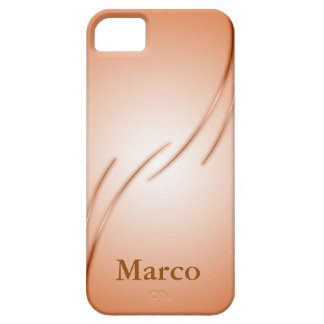 Chic curved LINEs copilot by colored phone case
