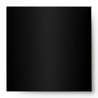 Chic Custom Black Envelope zazzle_envelope