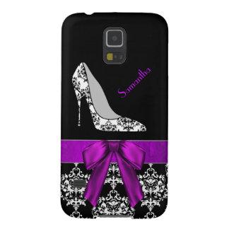Chic Damask Stiletto Samsung Galaxy S5 Case