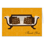Chic Decor Folded Thank You Notes Cards