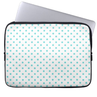 """chic dots laptop sleeve 13"""""""
