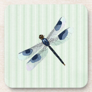 Chic Dragonfly Cork Back Coaster