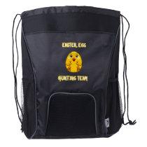 Chic Egg Easter Gift Easter Chicken Lover Drawstring Backpack
