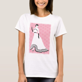 Chic Elegant Girl T-Shirt