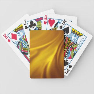 chic elegant golden silk textile customize healing card deck