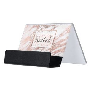 monogrammed business card holders zazzle
