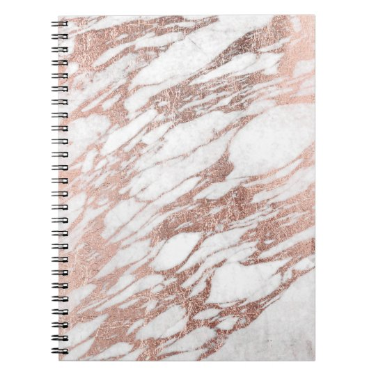 White And Gold Personalized Notebook Zazzle Com