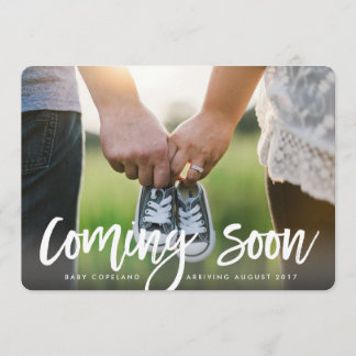 Chic Expectations   Photo Pregnancy Announcement