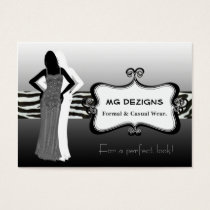chic fashion boutique Business Cards