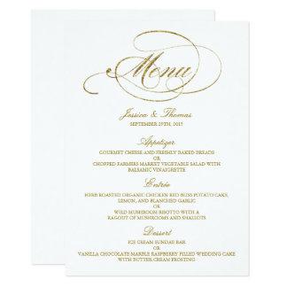 Wedding Menu Cards | Zazzle