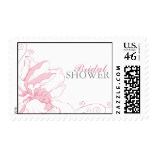 Chic Floral Bridal Shower Stamp