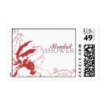 Chic Floral Bridal Shower Stamps
