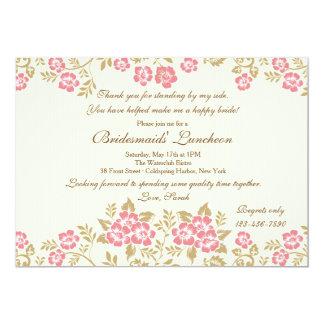 Chic Floral Invitation