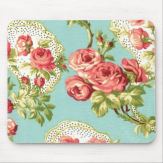 Chic Floral Mouse Pad