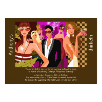 Chic Formal Party Invitation